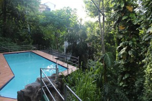 Our pool in Kandy