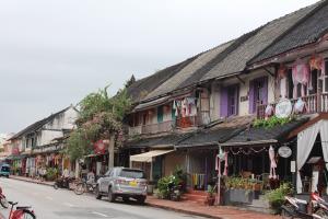 A Street in Luang Prabang