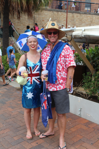 Australia Day outfits, Sydney