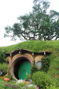 Bilbo's Bag End home, Hobbiton
