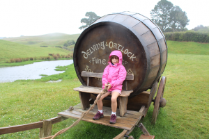 Enjoying Hobbiton