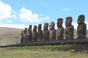 The Moai, like these at Ahu Tongariki, are a big reason many flock to the remote island of Rapa Nui.