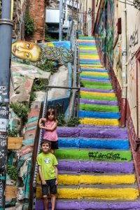 Valparaiso - so many hills and stairs!
