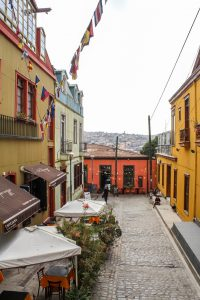 There are lots of lovely side streets to explore in Valparaiso